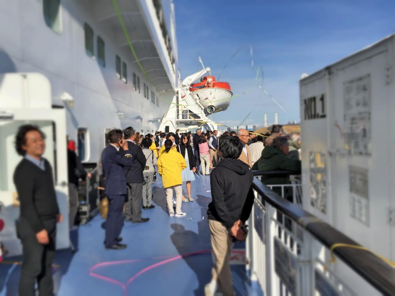豪華客船でニューイヤークルーズしてきました Part.1:パシフィックびぃなす初日