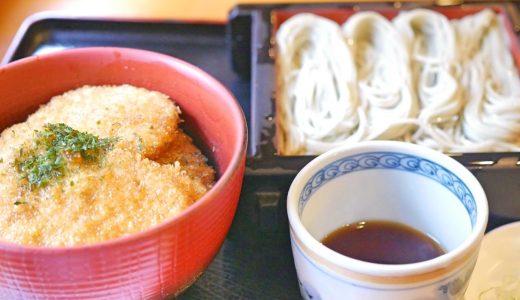 神保町で味わえる新潟グルメ『へぎそば』とほんのり甘い『タレカツ』のコンビネーション
