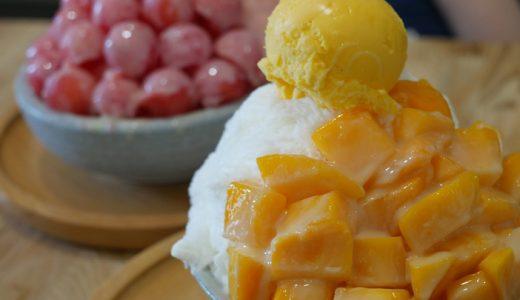 台南にも誕生した【震湶雪花冰】のフォトジェニックな山盛りマンゴーかき氷