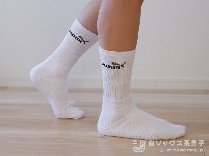 ebayで入手可能?!PUMA スポーツソックスUSAモデル