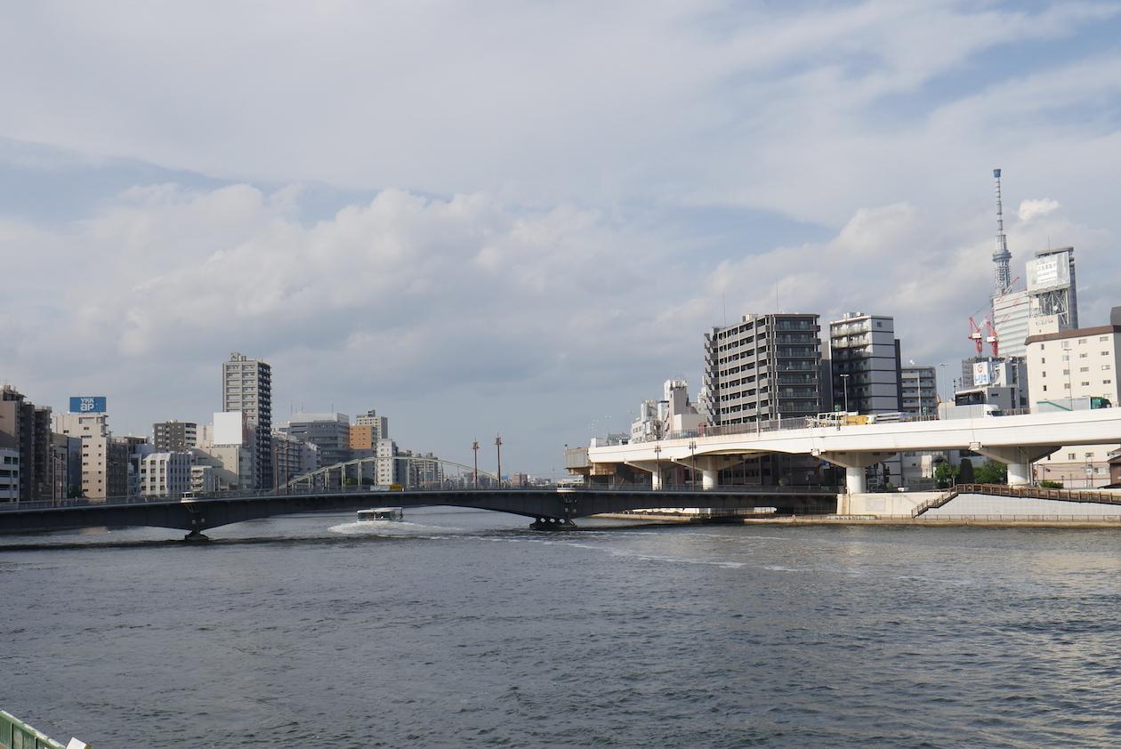 隅田川の近くだから、ちょっとお散歩すれば気分転換になります
